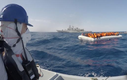 L'Italie a récupéré en mer près de 3.700 migrants en trois jours