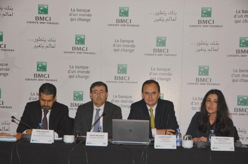 Progression de 37,4% du résultat net du Groupe BMCI