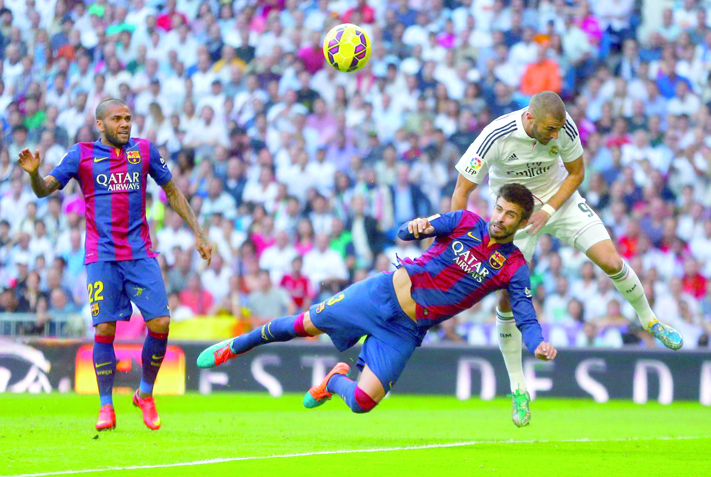 Le Real stoppe l'élan du Barça