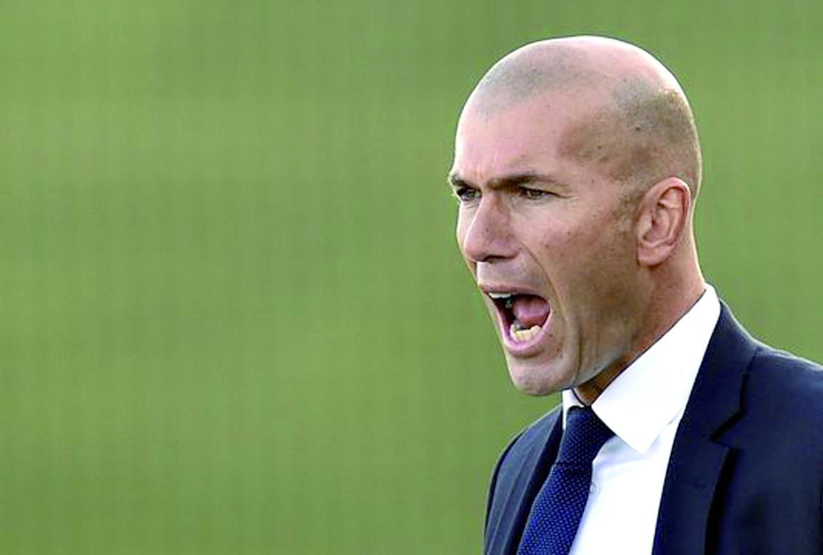 Zinedine Zidane Pour un  entraîneur, c'est le top
