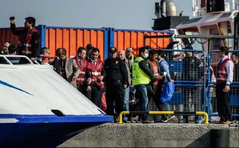 Arrivée en Turquie du premier ferry de migrants renvoyés de Grèce