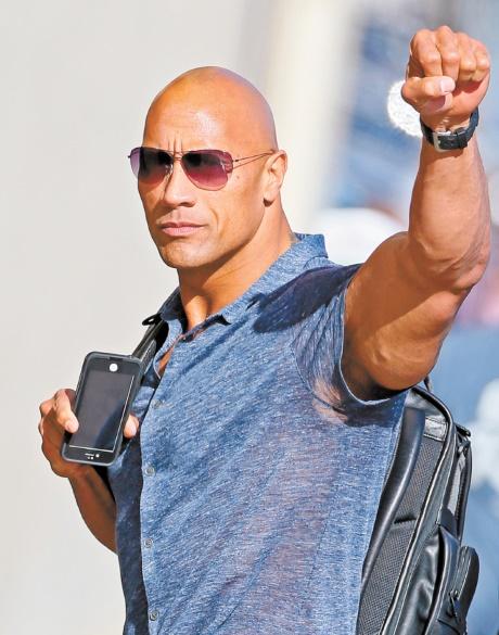 Les acteurs les mieux payés d'Hollywood : Dwayne Johnson