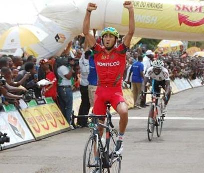 Mraouni conserve le maillot jaune du Tour du Maroc