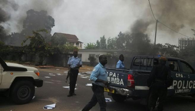 17 morts dans les troubles de Brazzaville