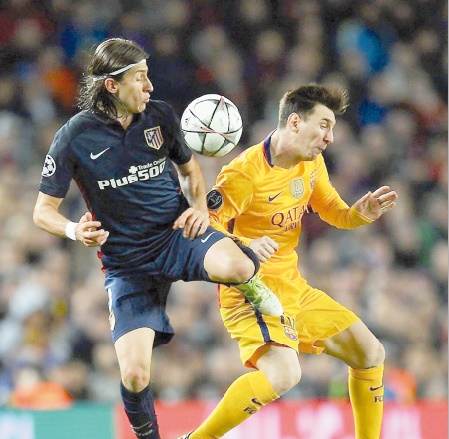Filipe Luis : Le Barça est protégé par les arbitres