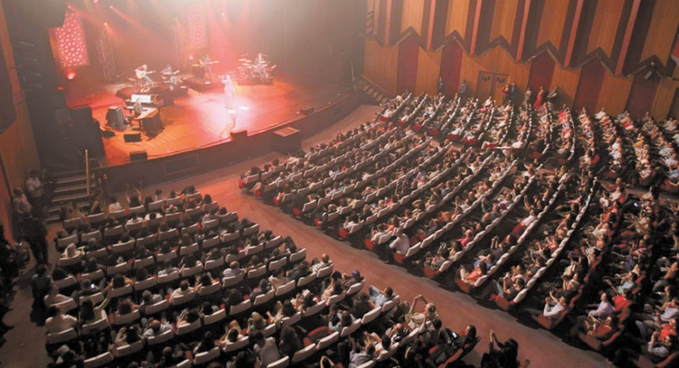 Le Théâtre National Mohammed V aux couleurs de Mawazine