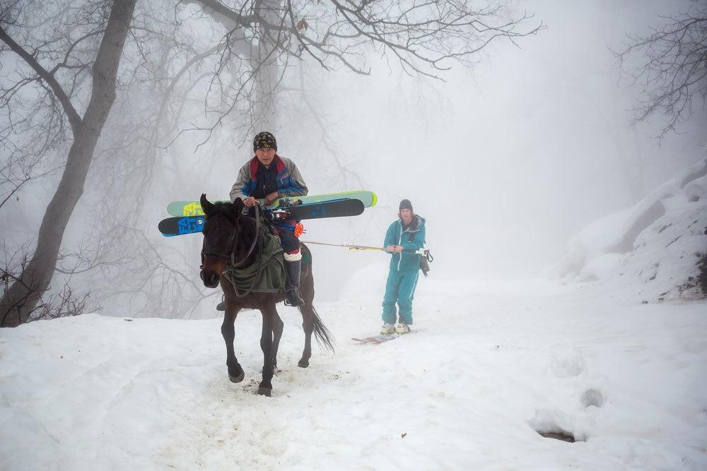 En Asie centrale, les sports d'hiver pour développer une industrie touristique