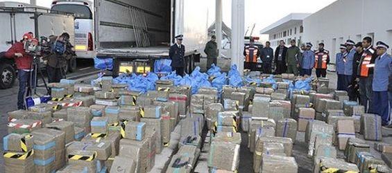 Saisie de plus de six tonnes  de chira destinées à l'Europe
