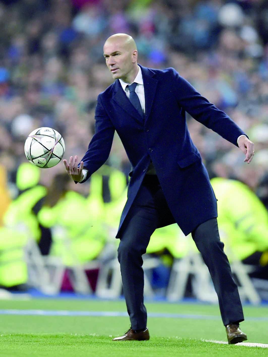 """Zinédine Zidane  """"Ma plus grande  soirée d'entraîneur"""""""