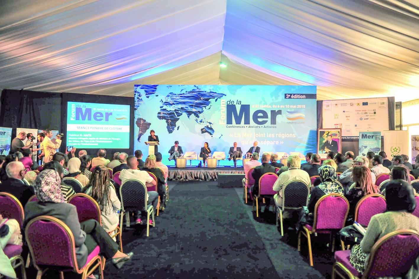 Le changement climatique plane sur  les travaux du 4ème Forum de la mer