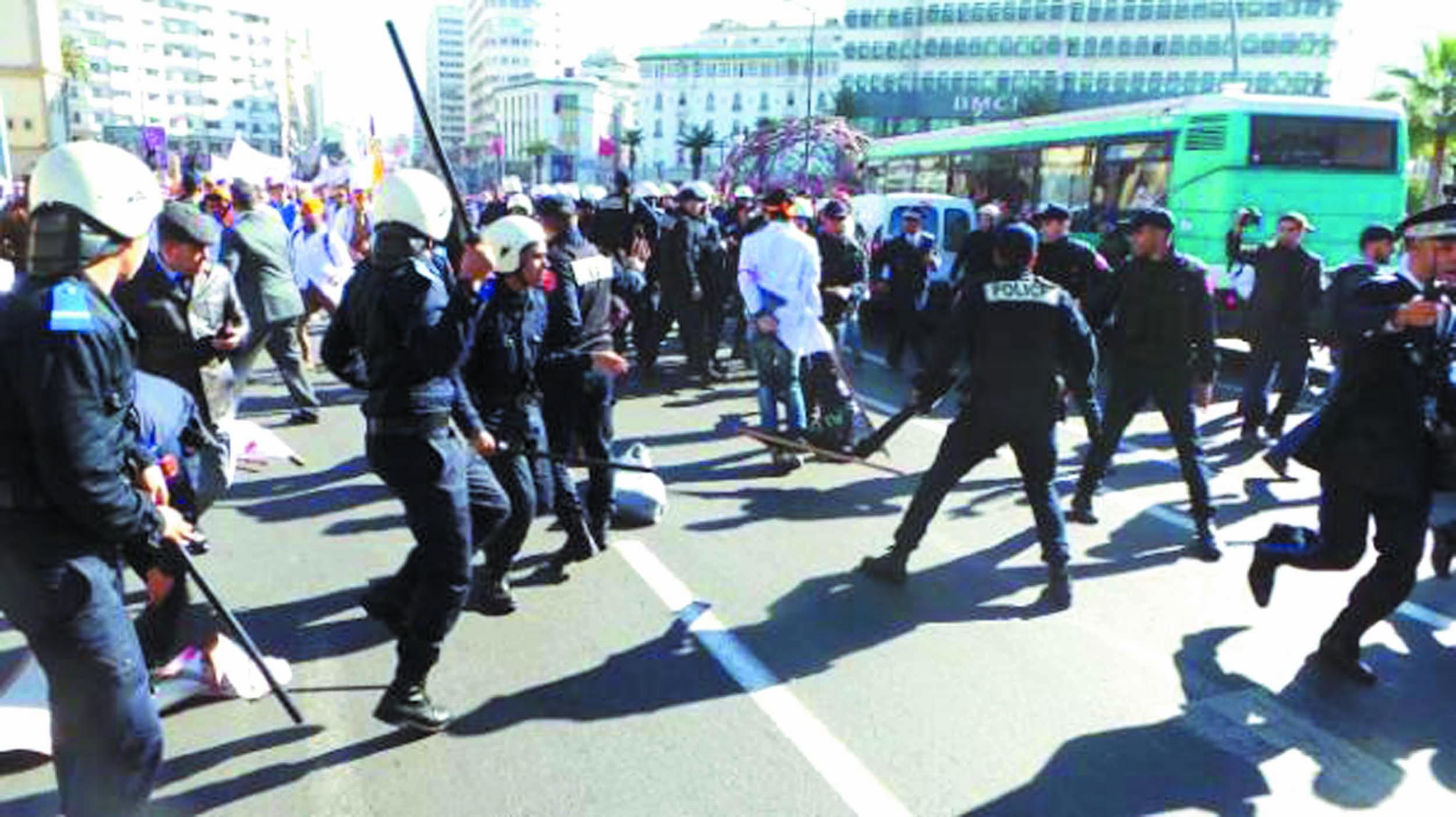 """L'USFP fustige """"l'état d'urgence"""" décrété par Benkirane pour faire face à la colère populaire"""