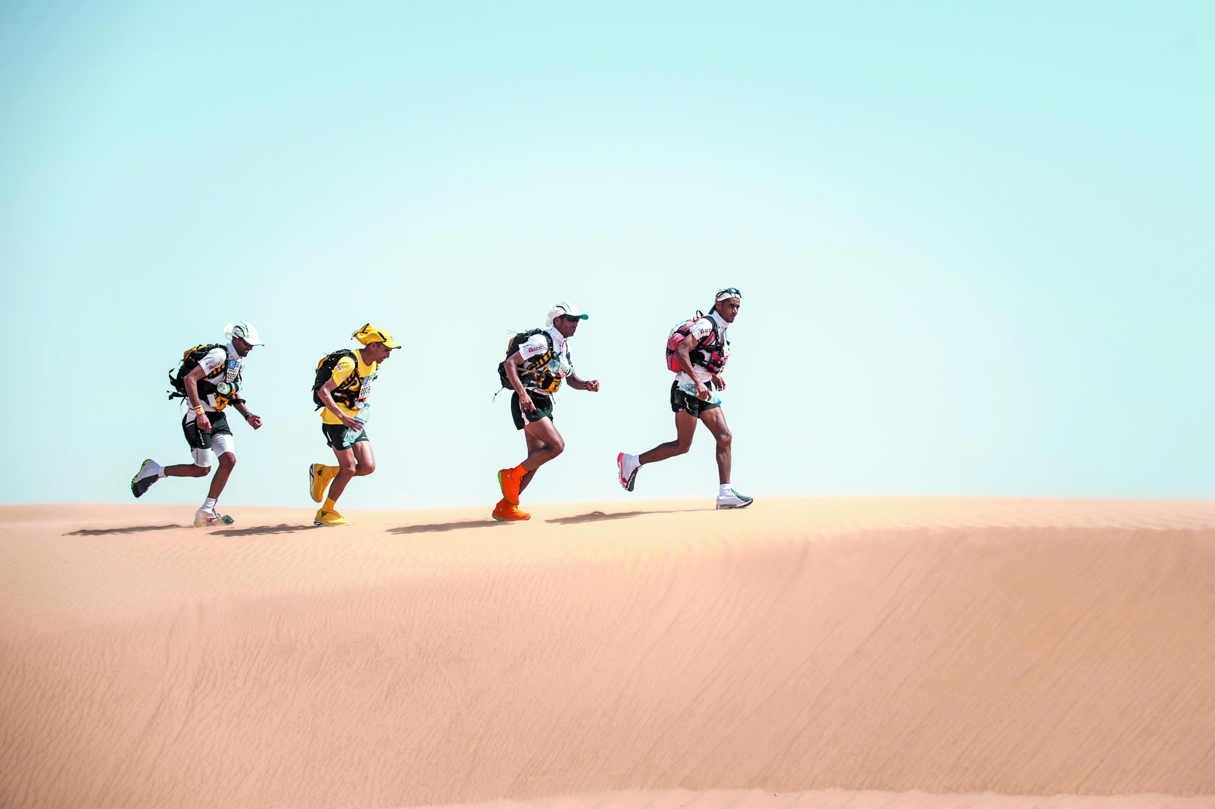 Consécration 100% marocaine au 31ème Marathon des sables