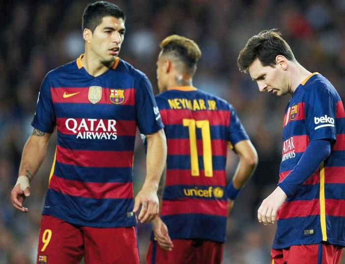 Le Barça continue de collectionner les revers