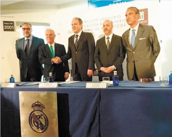 """L'ONMT, partenaire officiel du """"Circuit Solidaire Golf"""" de la Fondation Real Madrid"""