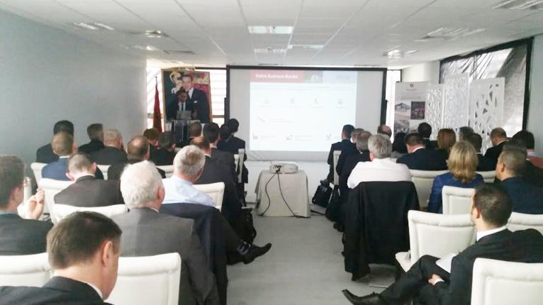 MEDZ rencontre une délégation de la FIEV à Tanger