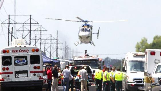 Explosion dans une usine pétrochimique au Mexique