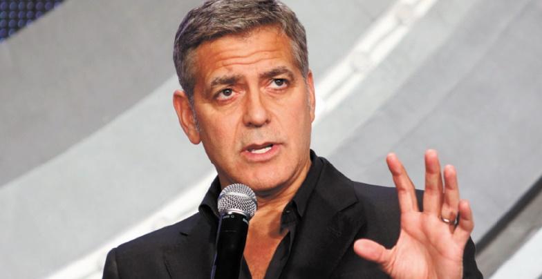 """Clooney dénonce les sommes """"indécentes"""" des élections américaines"""