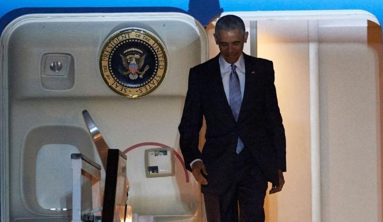 Lutte contre l'EI et Brexit au centre de la visite d'Obama au Royaume-Uni