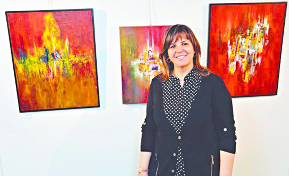 Le GP de l'art visuel décerné à Hayat Saidi