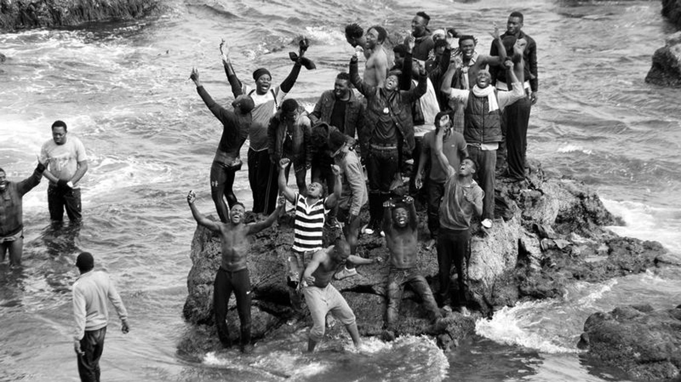 Plus d'une centaine de clandestins rejoignent Sebta à la nage