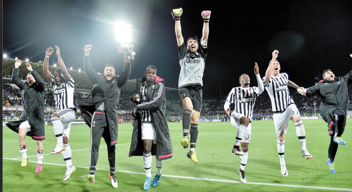 Cinquième titre d'affilée pour la Juventus