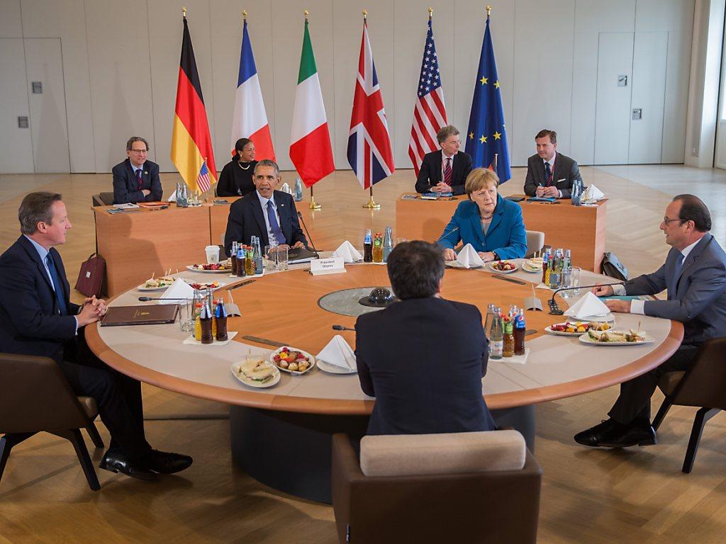 Obama  et les leaders européens pour une mission maritime  en Libye