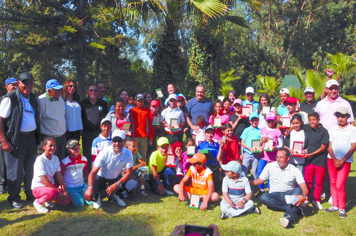 Serghini et Haddioui  s'adjugent le championnat du Maroc de golf