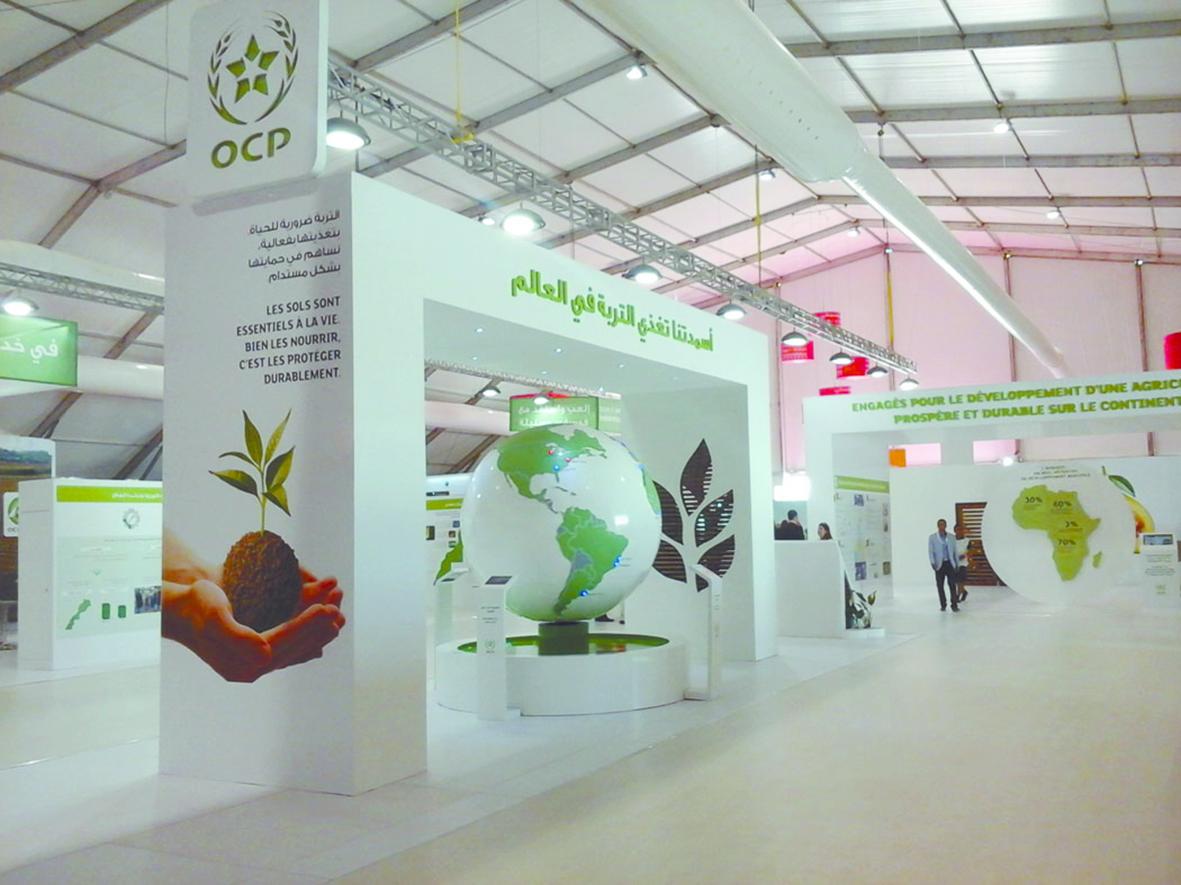 Du phosphate marocain pour le développement de l'Afrique