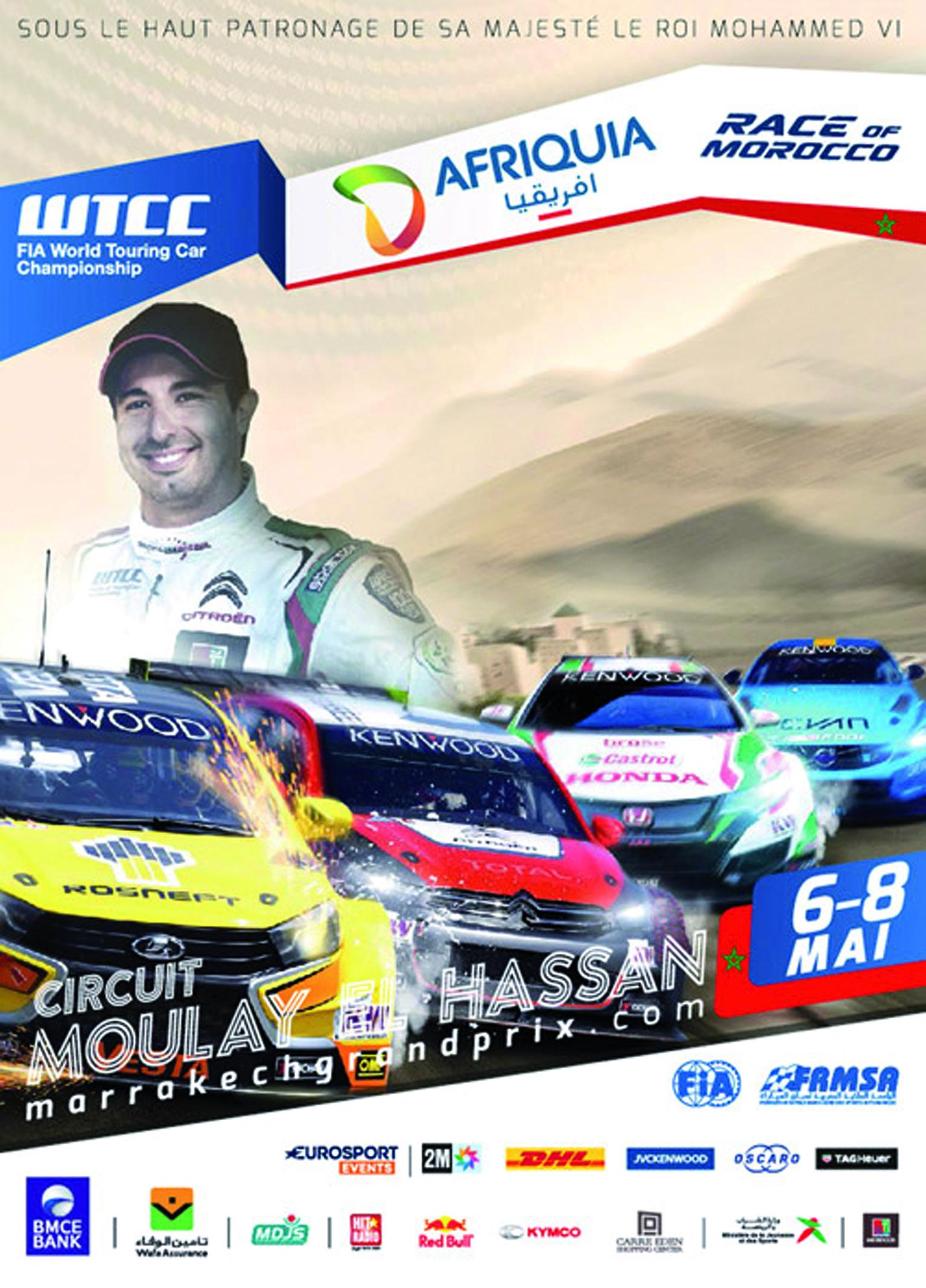 Marrakech à l'heure du WTCC Race of Morocco