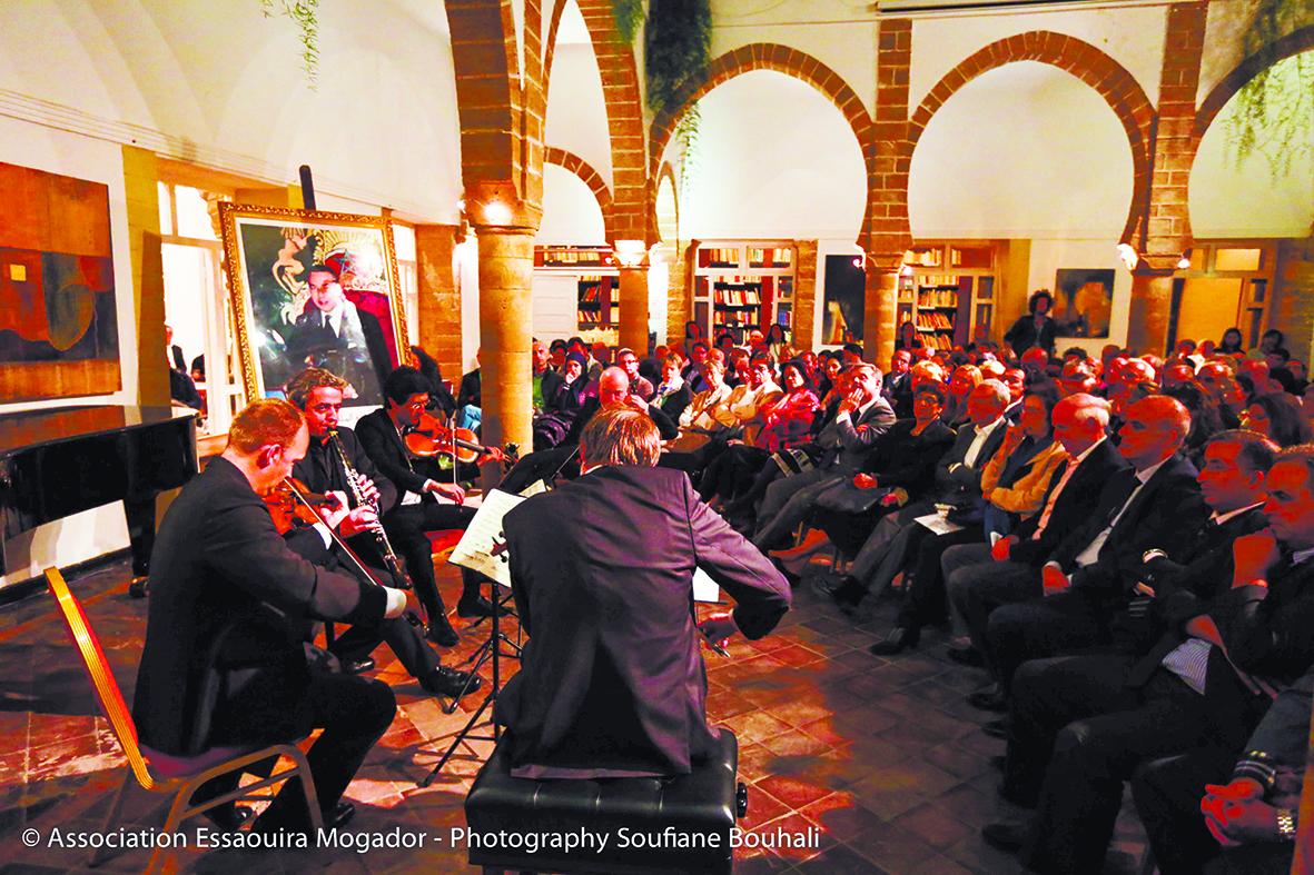Ouverture de la 16ème édition du Printemps musical  des alizés à Essaouira