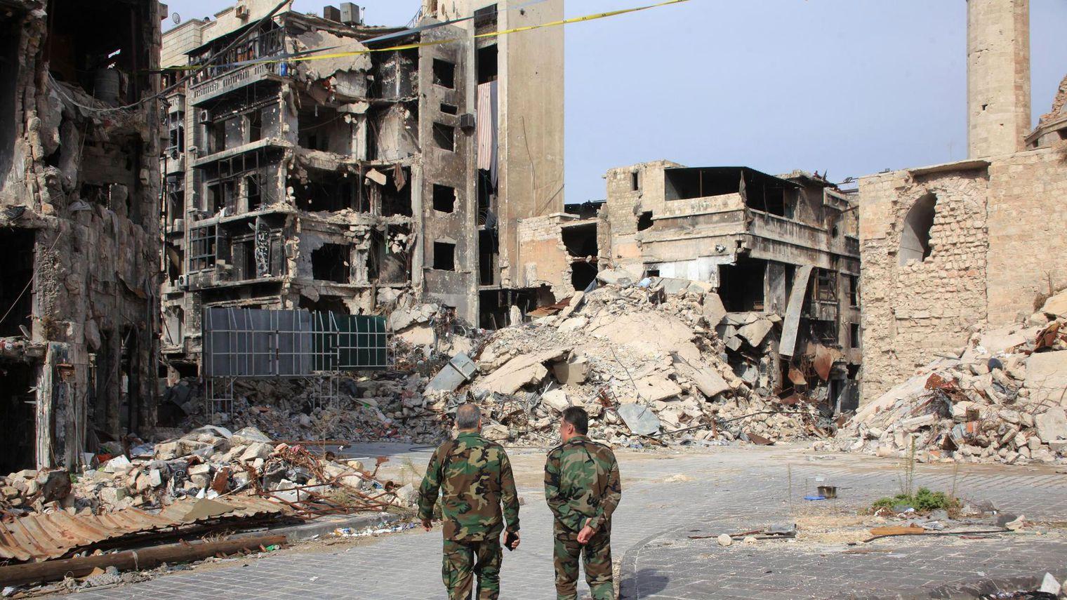 Le régime syrien prépare  une offensive contre Alep