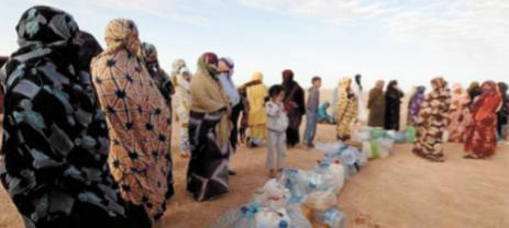 Khatt Achahid : Le Polisario veut maintenir son exploitation  des séquestrés de Tindouf
