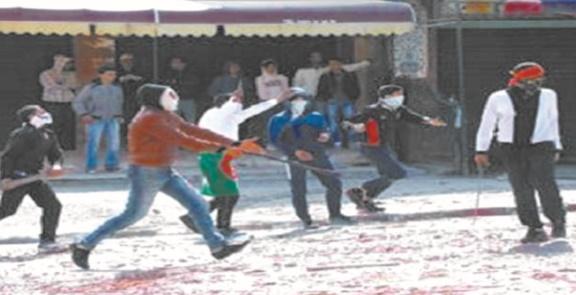 Affrontements à l'arme blanche à Laâyoune