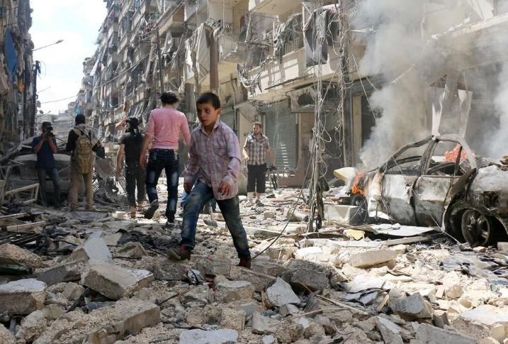 Recrudescence des combats et nouveaux raids sur Alep