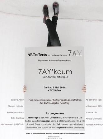 """""""7ay Koum"""" ou quand l'art est au cœur du quartier"""