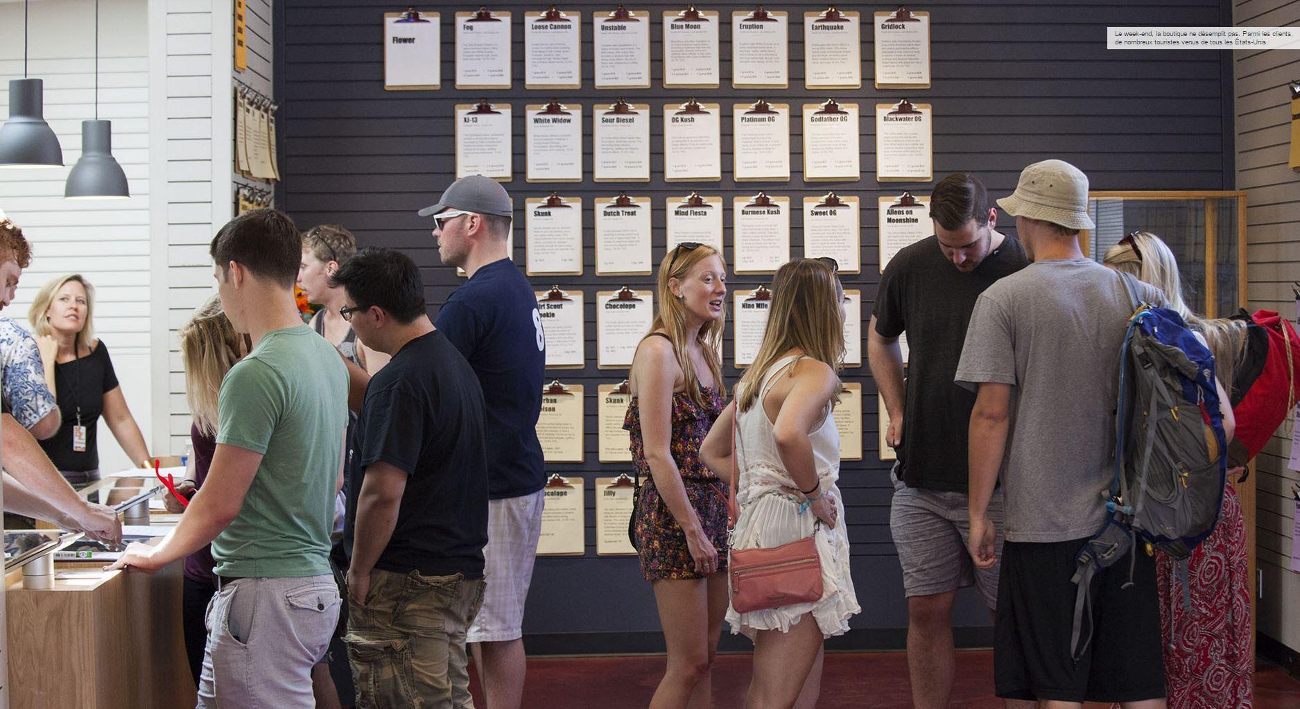 Aux Etats-Unis, les caisses d'épargne volent au secours de la marijuana