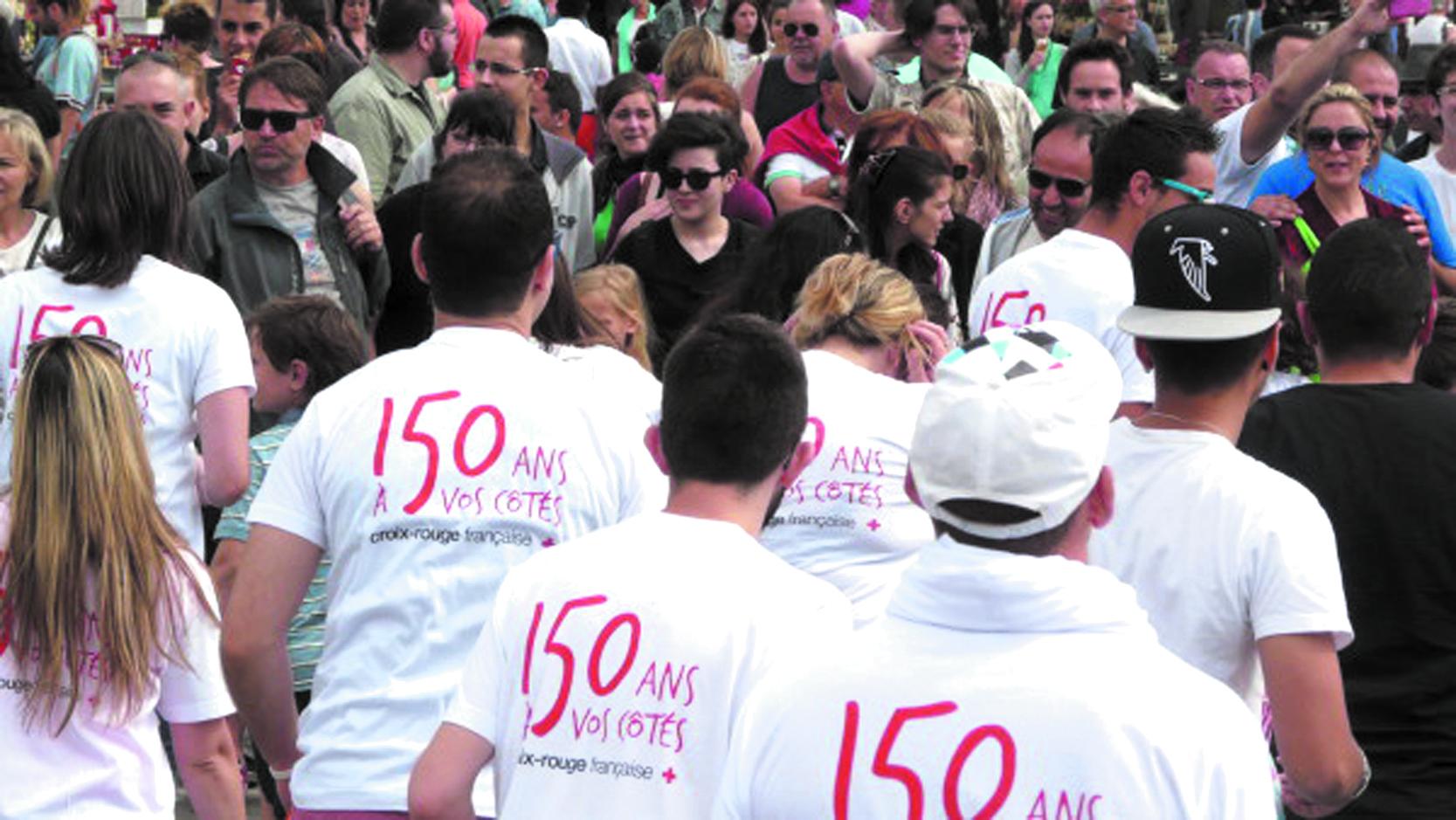 150ème anniversaire du Mouvement international de la Croix-Rouge et du Croissant-Rouge