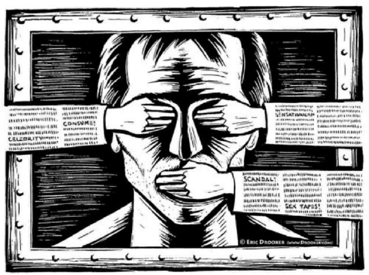 Les médias entre le marteau et l'enclume