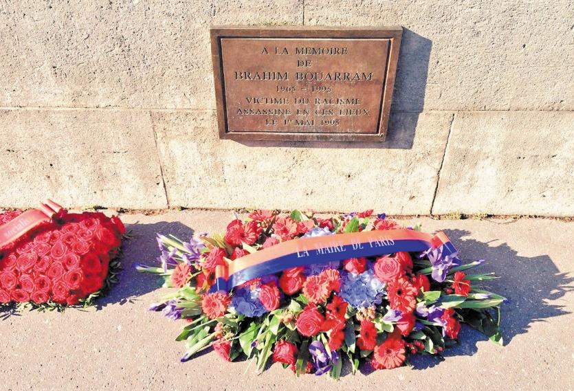 Commémoration de l'anniversaire de l'assassinat de Brahim Bouarram
