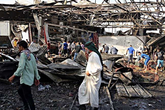 Au moins 34 morts dans un attentat dans un marché à Bagdad