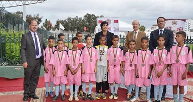 L'AREF de Souss-Massa remporte les gymnasiades de la journée olympique scolaire
