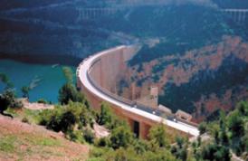Le taux de remplissage des barrages  inférieur à celui de 2015