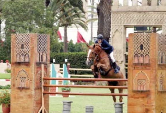 Driss Taoui remporte le Grand Prix S.M le Roi Mohammed VI de saut d'obstacles