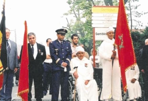 Hommage aux soldats marocains tombés lors de la bataille de Gembloux-Chastre