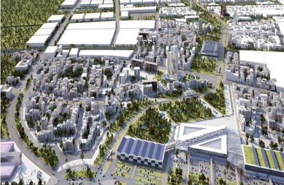 Le projet de l'éco-cité Zenata vise la création d'une ville innovante en faveur du développement durable