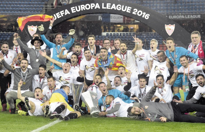 La passe de trois de Séville en Europa League