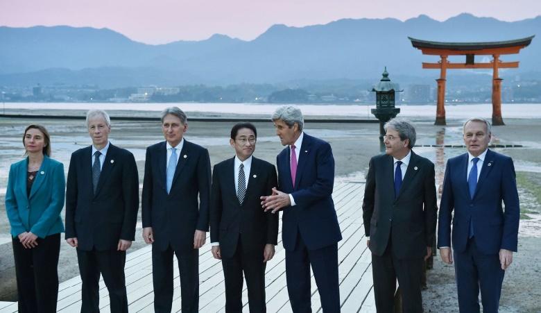 Croissance mondiale et turbulences des monnaies au cœur des débats du G7 au Japon