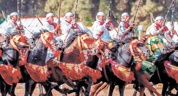 """Coup d'envoi du Trophée Hassan II des arts équestres traditionnels """"Tbourida"""""""