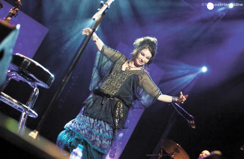 Natasha Atlas chante et enchante à Mawazine