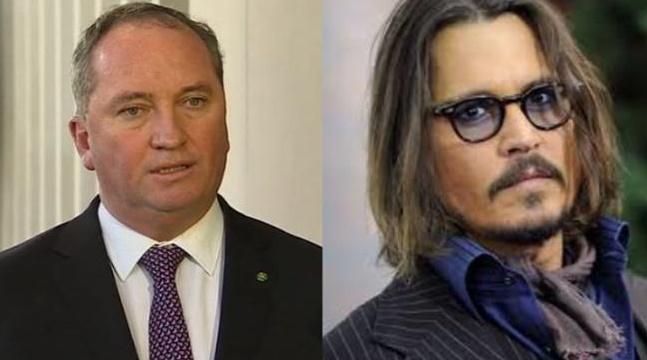 Johnny Depp et un ministre australien n'ont pas enterré la hache de guerre